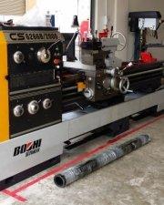 2 meter lathe machine
